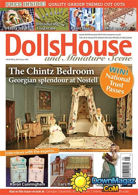 dolls house and miniature scene magazine dolls house and miniature scene may 2016 187 download pdf magazines magazines