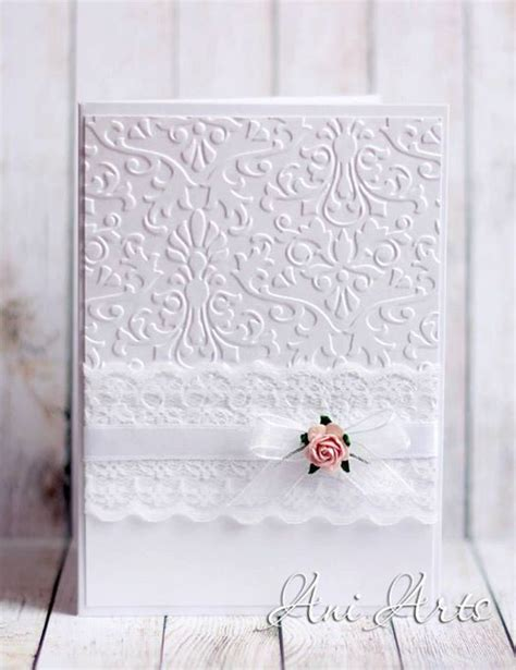 Handmade Wedding Cards Sle - 25 best ideas about wedding cards handmade on