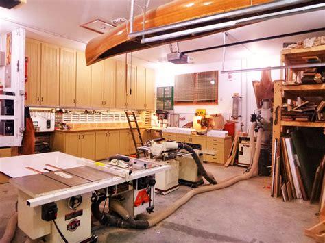 Gerards Garage by Garrett S Garage Wood Shop The Wood Whisperer