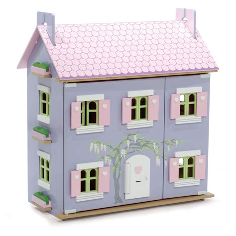dolls house le toy van le toy van the lavender dolls house toy dollhouses at hayneedle
