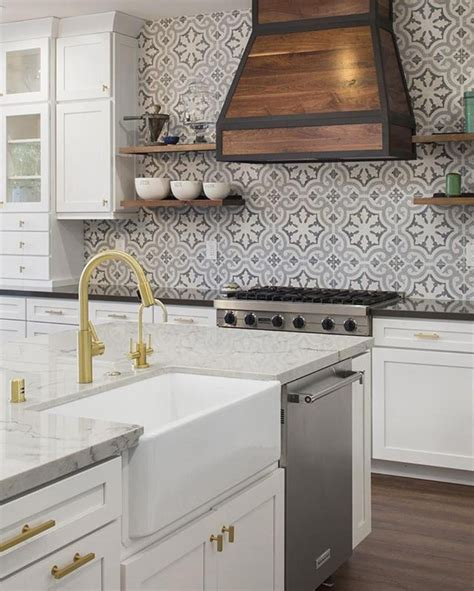 backsplash panels kitchen cement tile shop encaustic cement tile kyra ii terrazzo