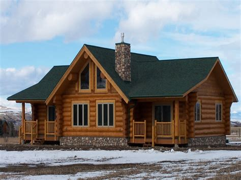 Log Cabin Trailer Homes by Single Wide Cabin Style Mobile Homes Studio Design