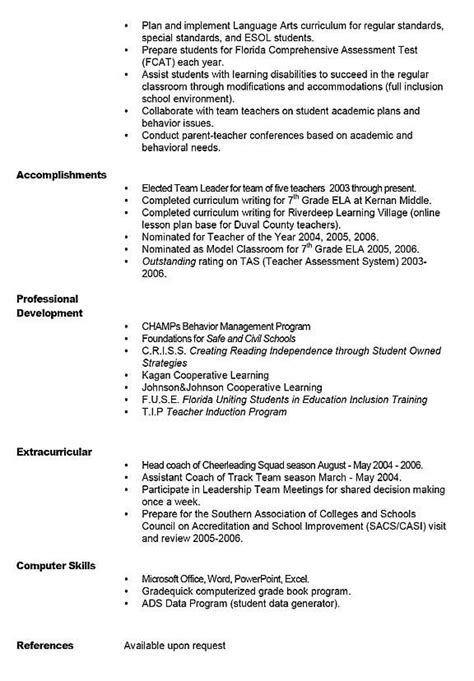 Resume With Profile Statement Exle by 40 Best Images About Resume Exles On