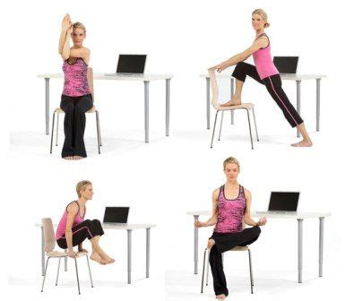 8 Exercise You Can Do At Your Workstation by Exercises You Can Do At Your Desk Fitness