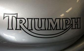 Triumph Aufkleber Gold by Triumph Aufkleber Tiger Daytona Speed Triple Tt600 St Rs