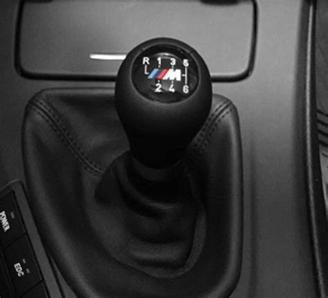 F10 M5 Gear Knob by F10 M5 Black Leather Shift Knob