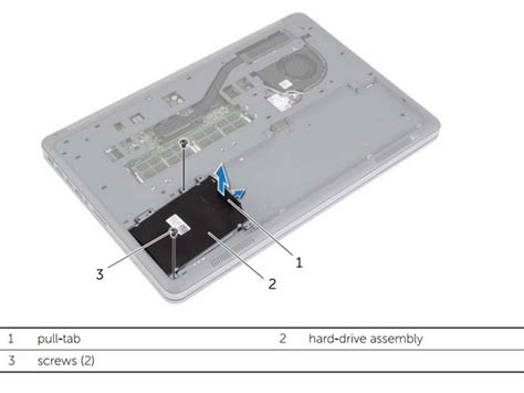 Harddisk Dell Inspiron dell inspiron 15 7537 drive replacement ifixit