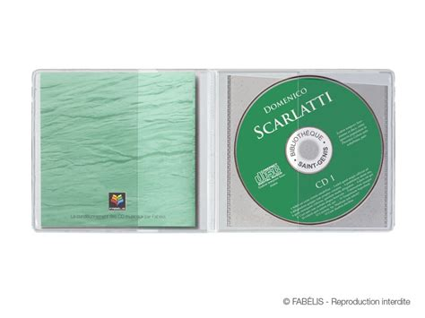 format cd pochette pochette cd 233 conomique 1 cd et son livret fab 201 co s
