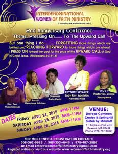 Women of faith flyer 4