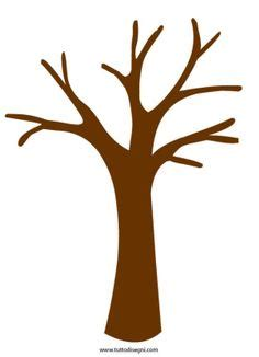 Brown Tree Clip by Brown Clipart Tree Trunk Pencil And In Color Brown