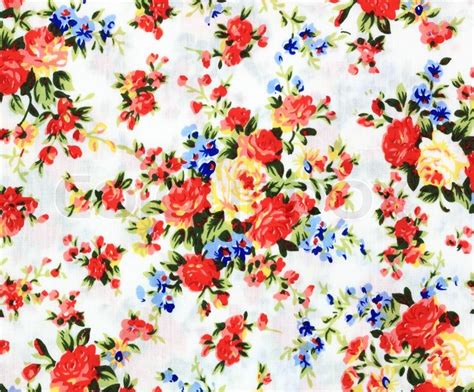 flower design on cloth flower fabric texture background abstract textile industry