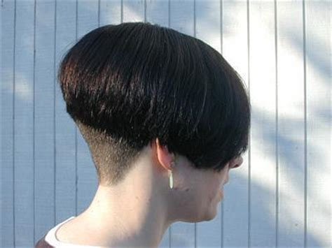 Bobbed Haircut With Shingled Npae | high nape inverted bob haircut short hairstyle 2013