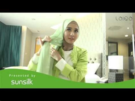 tutorial jilbab laudya cynthia bella tutorial hijab laudya cynthia bella youtube