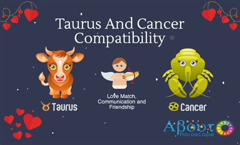 taurus and cancer compatibility love and friendship