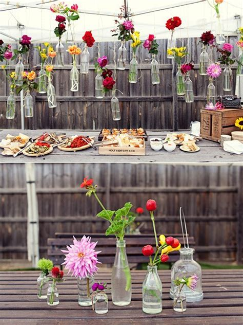 outdoor party decorations on a budget
