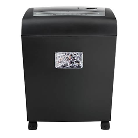 office depot coupons paper shredder ativa 10cc04 10 sheet cross cut paper shredder by office