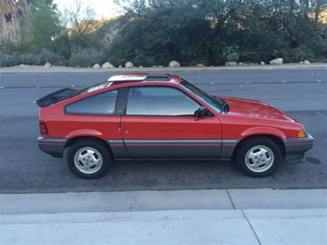electronic stability control 1985 honda cr x windshield wipe control service manual service manual for a 1985 honda cr x find used 1985 honda civic crx dx coupe