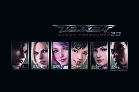 T Shirt Tekken 01 tekken blood vengeance archives the average gamer
