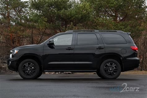 2019 Toyota Sequoia Review by 2019 Toyota Sequoia 4x4 Trd Sport Review Web2carz