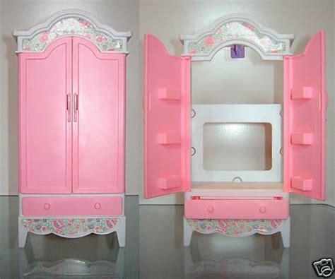 doll armoire doll dresser doll mattel 1996 barbie doll dollhouse wardrobe closet dresser