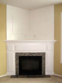 corner fireplace makeover if our home doesn t a fireplace we can always buy a one from the store and turn it
