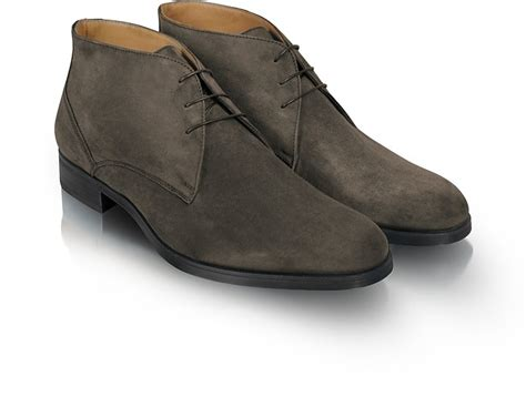 Unify Suede Uk44 moreschi stiria gray suede ankle boots 10 11 us 10 uk 44 eu at forzieri