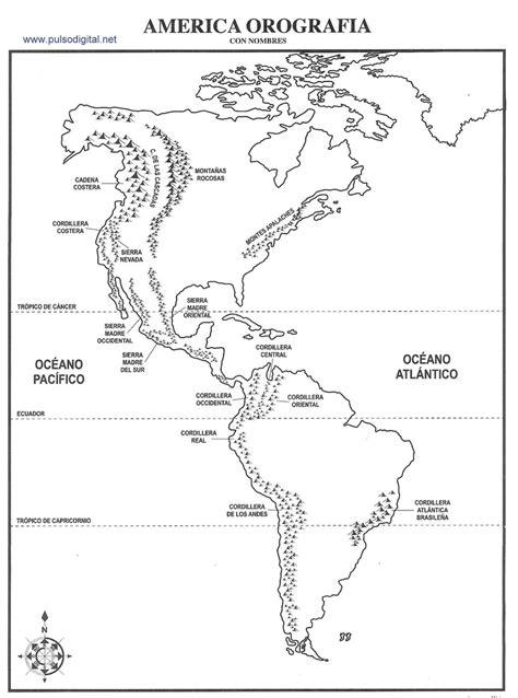 mapa america con division politica mapa de america norte con division politica