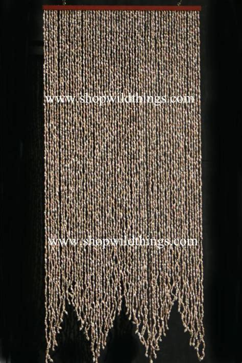 shell door curtains beaded curtains shells and curtains on pinterest