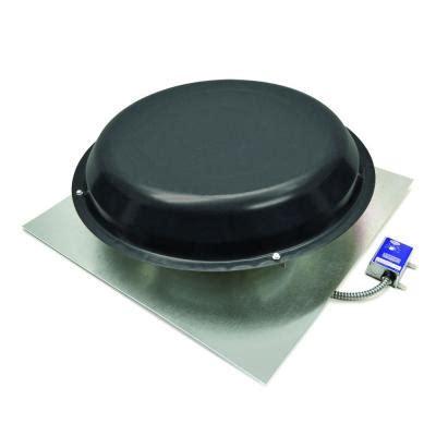 master flow attic fan master flow 1250 cfm power roof mount vent in black pr2dbl