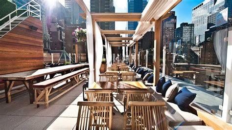 New York Top Bars by Best Rooftop Bars In New York City To Drink