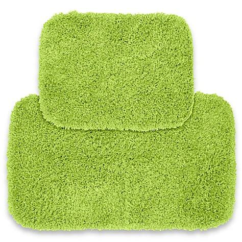 lime green bath rug buy jazz 2 bath rug set in lime green from bed bath beyond