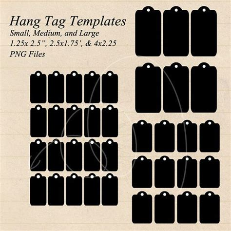 printable hanging gift tags instant download hang tag gift tag templates small