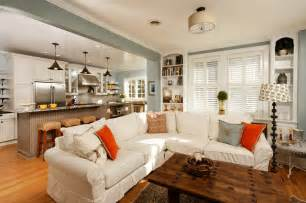Kitchen And Living Room Design Ideas To Keep Kitchen And Living Room Together