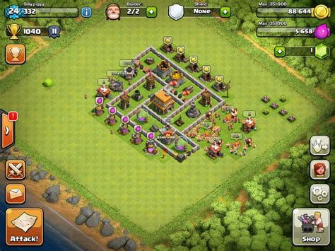 coc layout heart 1000 images about clash of clans base layout on pinterest