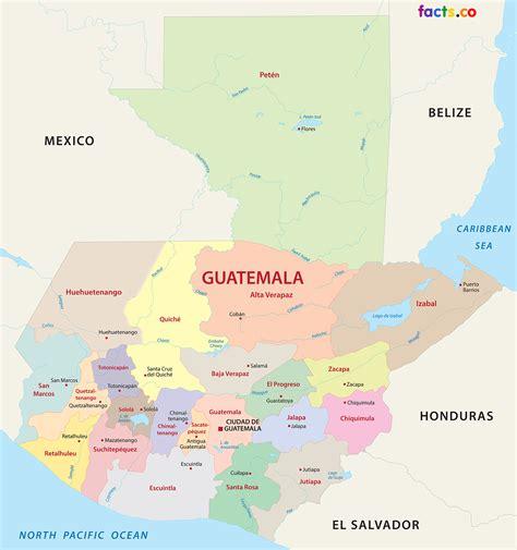 Guatemala Map   blank Political Guatemala map with cities
