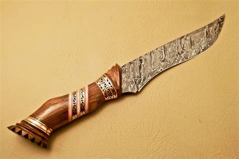 amazing knives custom handmade damascus steel hunting knife new damascus