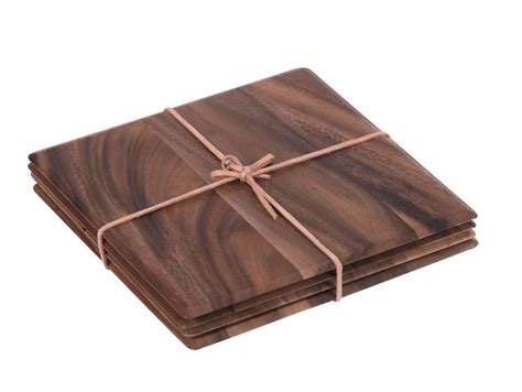 Wooden Table Mat by Acacia Wood Mats Table Mats Wooden Table Mats
