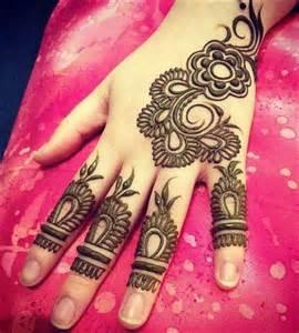 simple mehandi designs stylish arabic design
