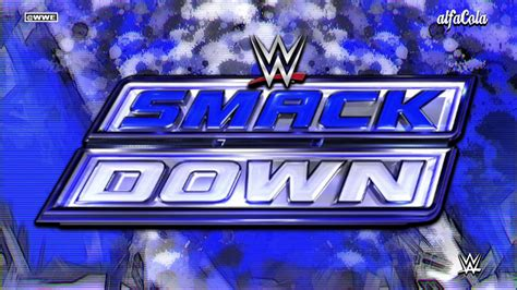 theme song smackdown 2015 wwe smackdown quot black and blue quot official bumper theme