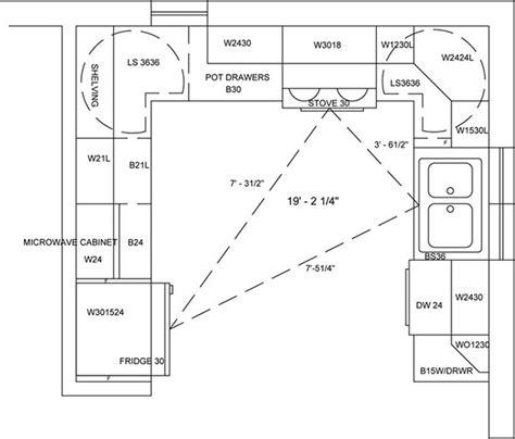 Kitchen Floor Plan Autocad Portfolio On Behance