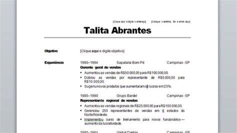 Modelo De Curriculum Vitae Tradicional Chileno Modelo De Curr 237 Culo Tradicional Gr 225 Tis Modelo Para Baixar