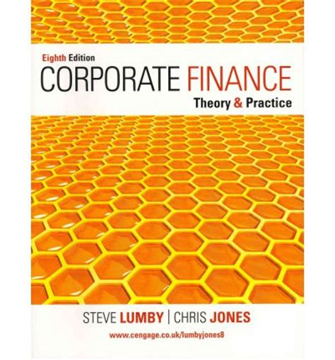 corporate finance theory and practice books corporate finance theory and practice steve lumby