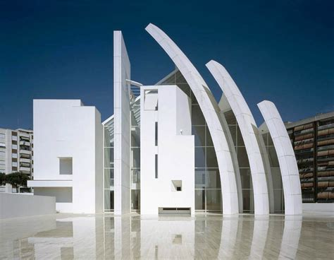 iconic modern architecture jubilee church in rome by richard meier and partners homesthetics