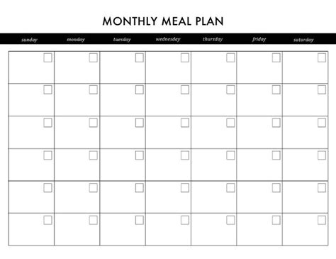 printable meal planner calendar diy printable planner printable planner planners and meals