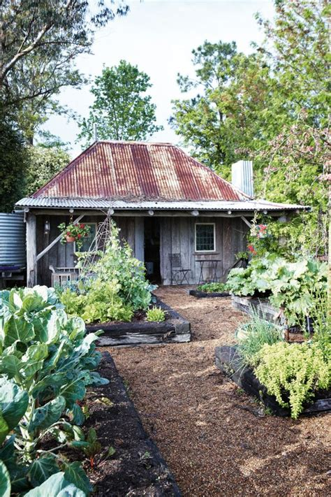tin barrel roof cottage becomes garden shed tin roof raised beds