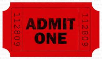 4 free admission ticket templates word excel pdf formats