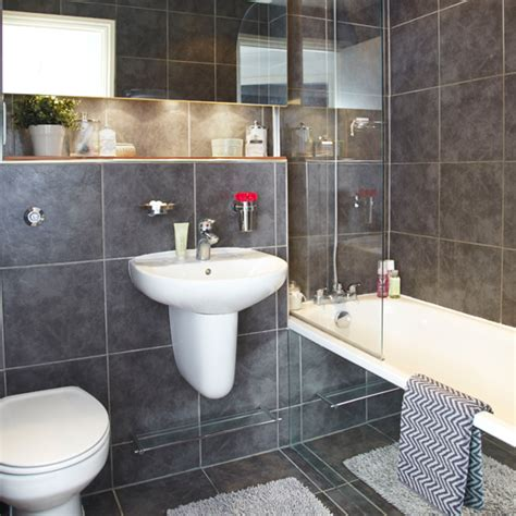slate tile bathroom shower design ideas home trendy modern slate grey bathroom bathroom decorating ideal home