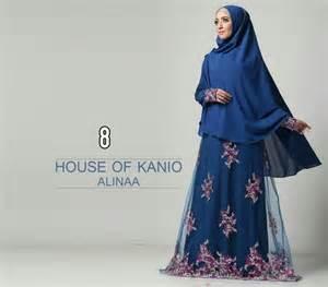 Syari Aline Buble Pop Plus Furing syari fashion butiq laman 4