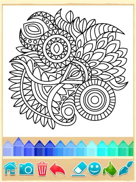 mandala coloring pages apk mandala coloring pages 7 1 2 android apk free