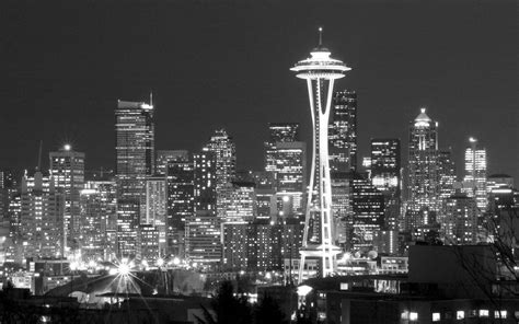 black and white wallpaper new zealand seattle skyline wallpapers wallpaper cave